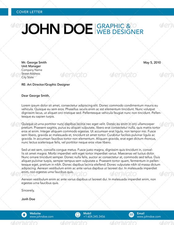Cover letters, Cover letter tips and Affordable website design on ...