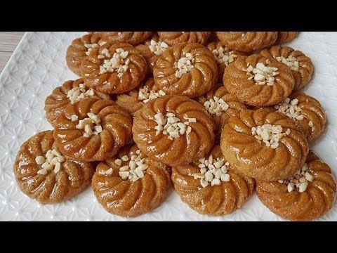 جديد حلوى معسلة بمذاق الشباكية ببيضة واحدة بدون قلي هشة ولذيذة معسلات رمضان 2019 Youtube Food Desserts Cookies