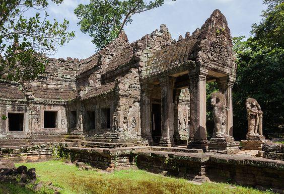 Kiến trúc của ngôi đền Preah Khan cho đến nay vẫn còn nguyên vẹn và là điểm du lịch hấp dẫn