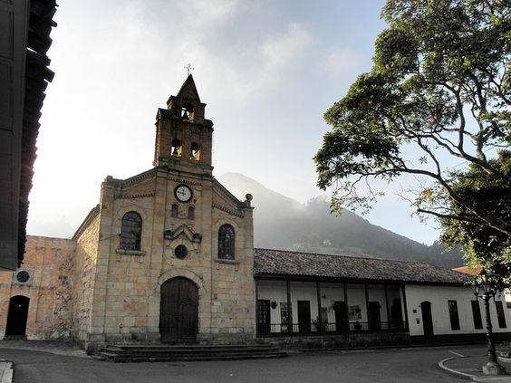 Main Church at Sopó, Cundinamarca, Colombia. Find us on Facebook: https://www.facebook.com/Going2Colombia