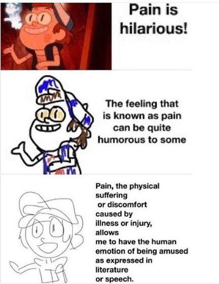 Pin By Oof The On All Things Bipper Verbose Memes Gravity Falls Increasingly Verbose Memes