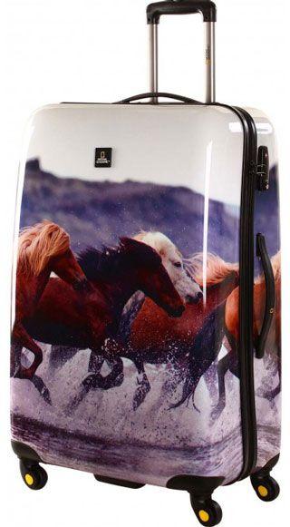 National Geographic | Nature of Love | 78 x 52 x 29 cm & in anderen Grössen erhältlich | #Pferde #Reisen #Urlaub #Reisegepäck #animalprint