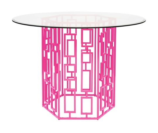Pink Side Table So Beautiful, Sharing Hollywood Luxury Lifestyle Home Decor & Gift Ideas Courtesy Of InStyle-Decor.com Beverly Hills Enjoy & Happy Pinning