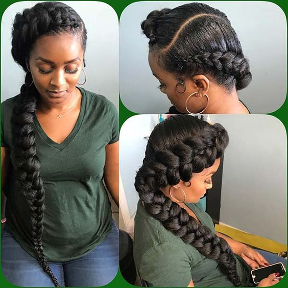 two strand butterfly hairstyle