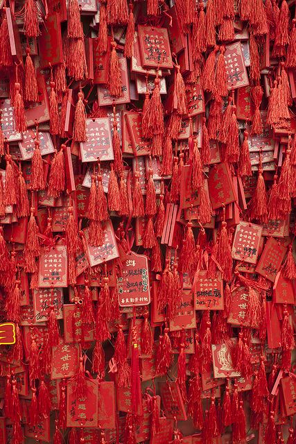 Chinese Wishes #colours