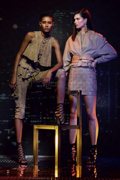 Balmain R/16 #Models #Runway #Catwalk #Fashion #Lookbook - http://goo.gl/d35Kau