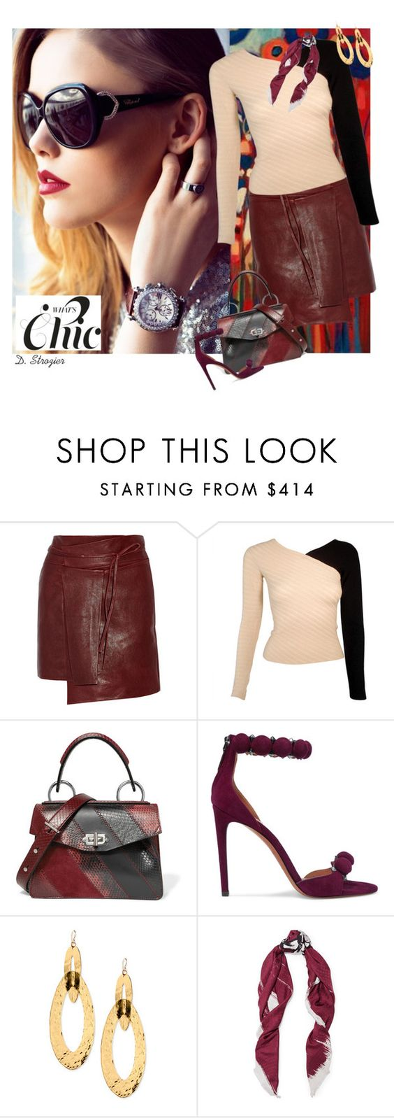"""""""Modern Chic"""" by deborah-strozier ❤ liked on Polyvore featuring Chopard, Isabel Marant, Proenza Schouler, Alaïa, Devon Leigh, Balenciaga and modern"""