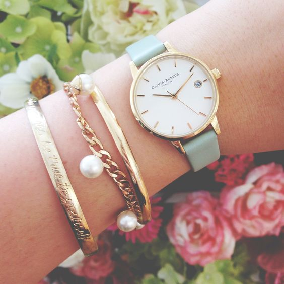 Chelsea Flower Show inspired - beautiful watches and beautiful blooms! <3 #oliviaburton