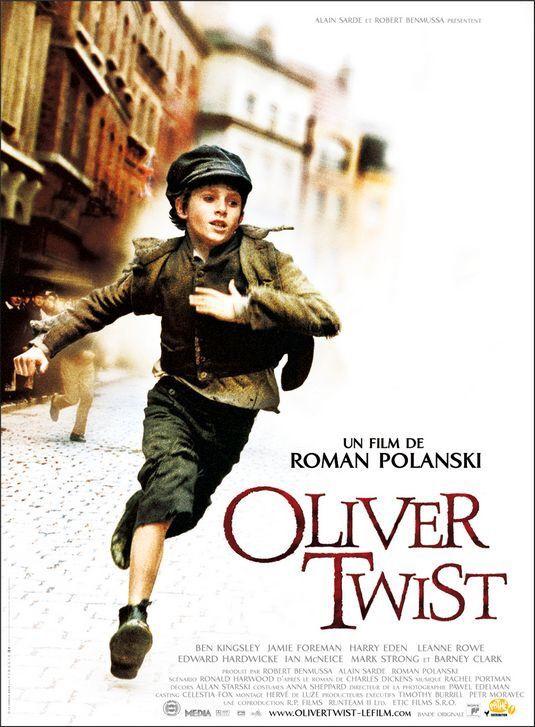 """Oliver Twist"" (Roman Polanski, 2005) con Barney Clark, Ben Kingsley y Jamie Foreman."