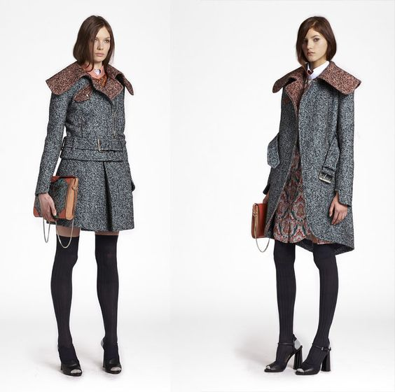 Great coats, Love the texture and color!