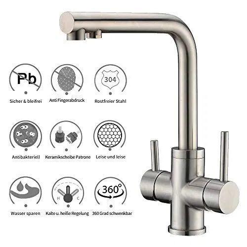 3 Wege Trinkwasserhahn Fur Wasserfilter Wasserhahn Crea Kitchen Kitchen Osmoseanlage Gesunder Leben 3wegetrinkwasserhahn Home Decor Osmosis Water