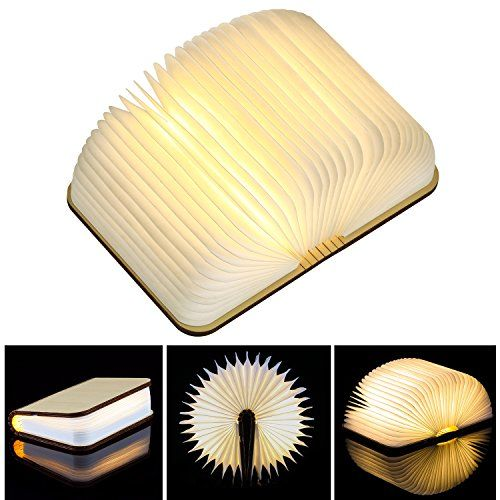 Wooden Book Lamp Magicfly Mini Folding Book Light Magnet Https Www Amazon Com Dp B0771cs3mx Ref Cm Sw R Pi Awdb T1 X M Book Lamp Wooden Books Book Lights
