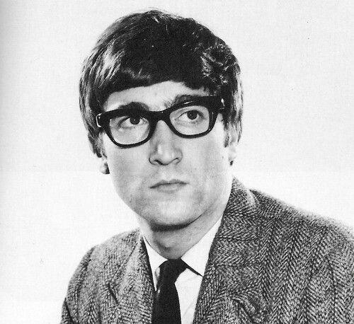 John and his glasses