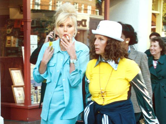 Josie - Ab Fab aesthetic vibes but with less $$$$