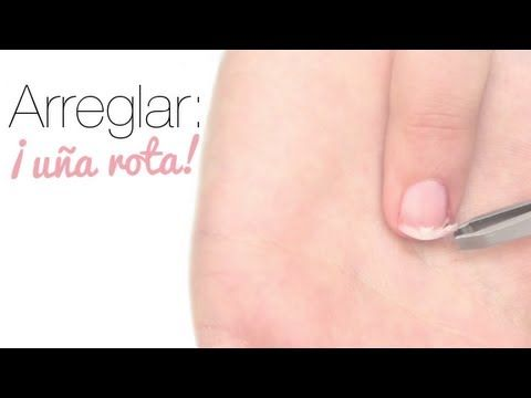 Cómo arreglar una uña rota. How to fix a broken nail. Comment réparer une ongle cassé.  https://www.facebook.com/bagatelleoficial Bagatelle Marta Esparza #uña #nail #ongle