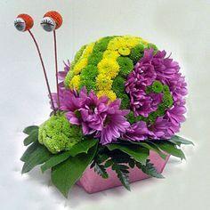 Gallery.ru / Фото #1 - игрушки из живых цветов - semynova