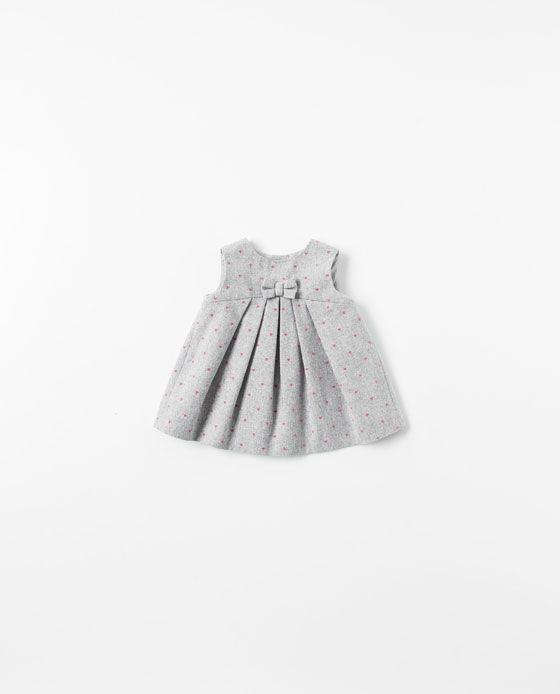 ZARA - MINI - DRESS WITH HEARTS