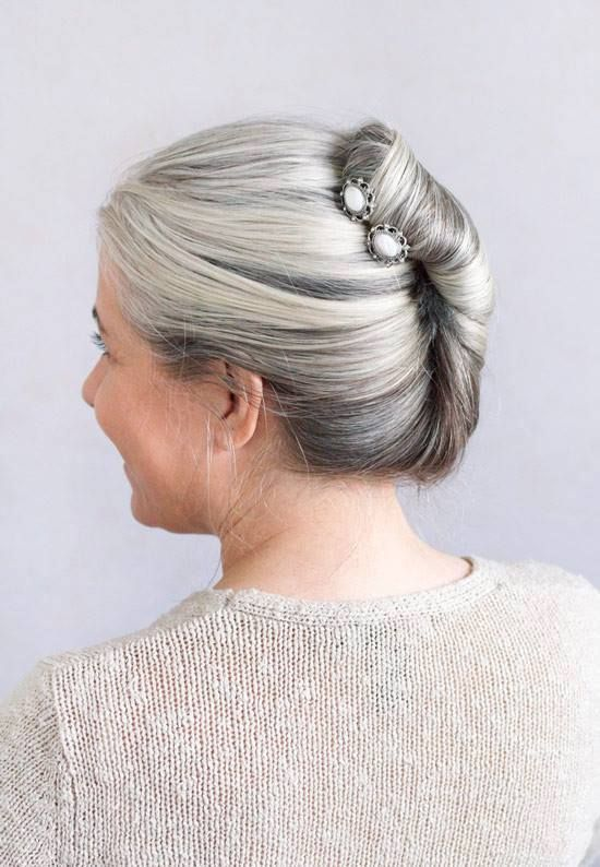 The Top 10 Best Hairstyles For Long Gray Hair In 2019 Long Gray