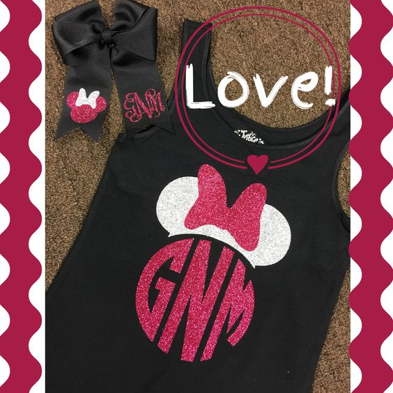 Disney outfit  #palmettotwist #monogramthat