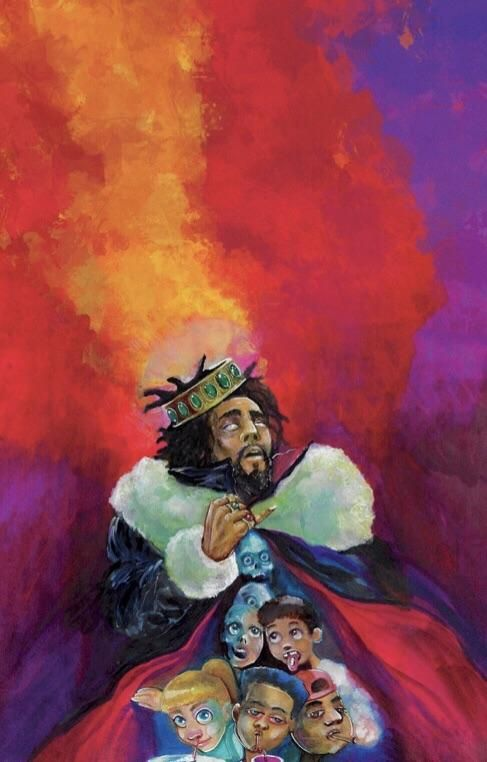 J Cole K O D Wallpaper Smart Phone Wallpapers 4kphonewallpapersreddit Iphonewallpapersreddit Redditw Album Cover Art Wallpaper Diy Crafts Phone Wallpaper