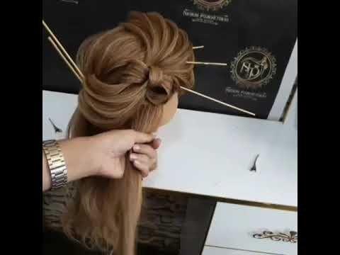 تسريحات شعر بسيطه و سهله 2019 Tasrihat Cha3r Jamila Diy Youtube Hair Accessories Hair Styles Beauty
