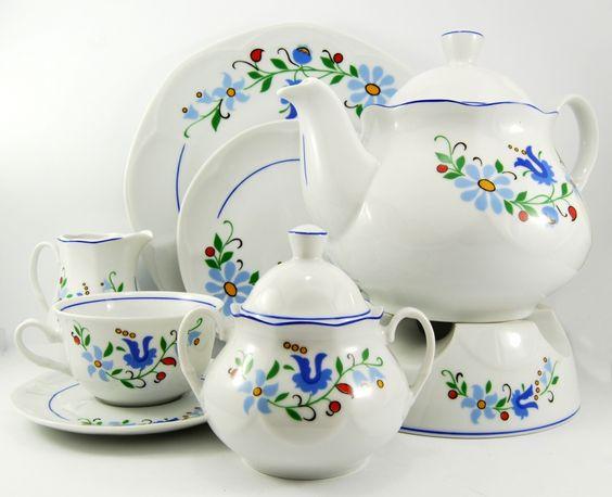 Ceramika Lubiana Kaszubska Dishes Amp Bottles Pinterest