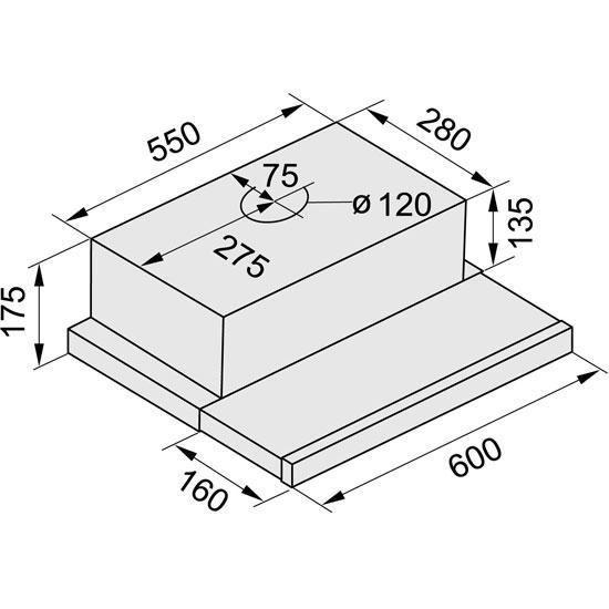 Depurador de Ar 60CM Slim 5760 - Fischer