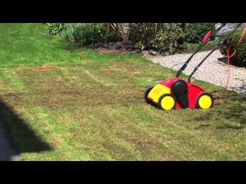 Cool Rasen pflegen und vertikutieren im Fr hjahr YouTube