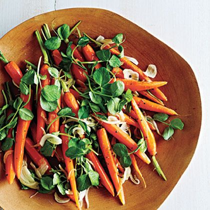 Newfangled Peas and Carrots by Cooking Light