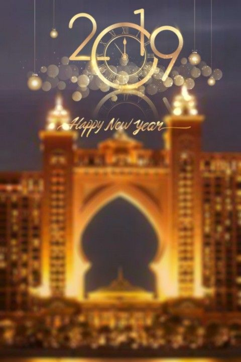 Happy New Year Editing Background 13