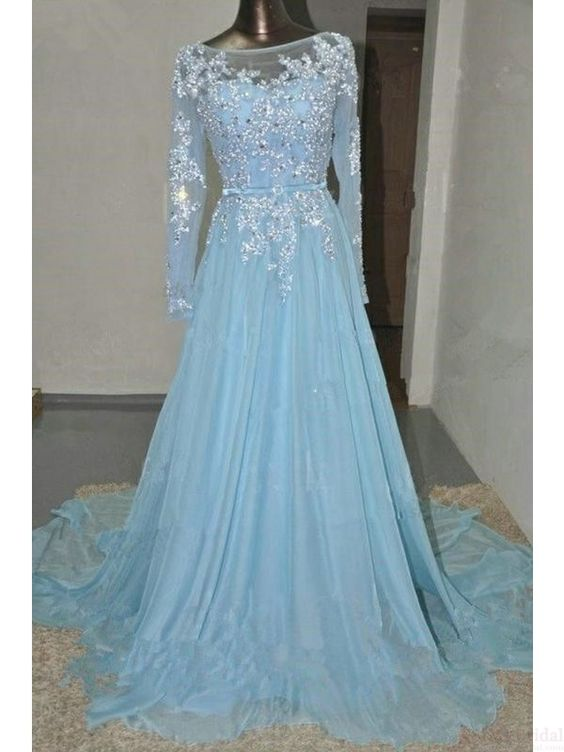 Prom dresses, Sleeve and Long sleeve on Pinterest