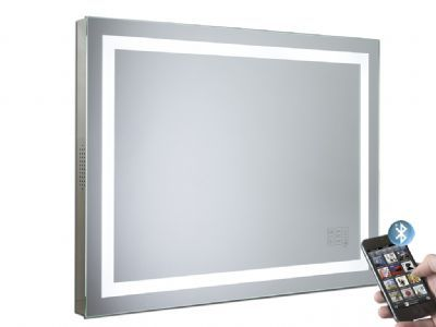 Buy - Beat Illuminated Bluetooth Bathroom Mirror with Speakers- Roper Rhodes