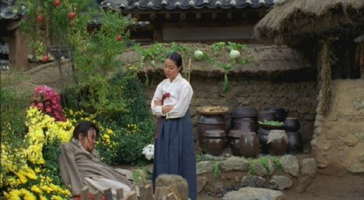 Chi-hwa-seon or Chwi-hwa-seon, (also known as Painted Fire, Strokes of Fire or Drunk on Women and Poetry), is a 2002 South Korean drama film directed by Im Kwon-taek about Jang Seung-up (Oh-won), a nineteenth-century Korean painter who changed the direction of Korean art. 최민식과 아내 김여진