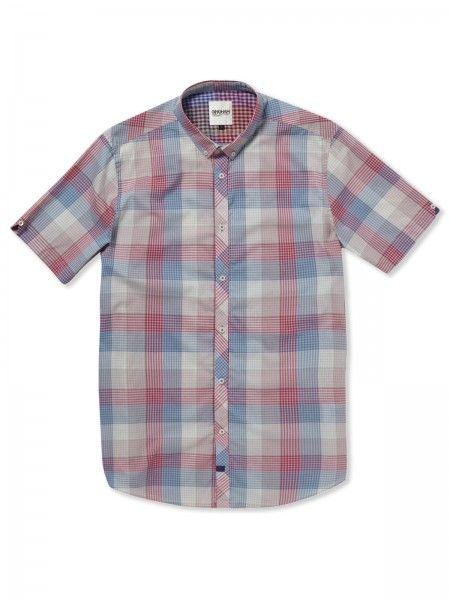 Gingham Shirt Factory: Vintage Multicoloured Gingham Shirt