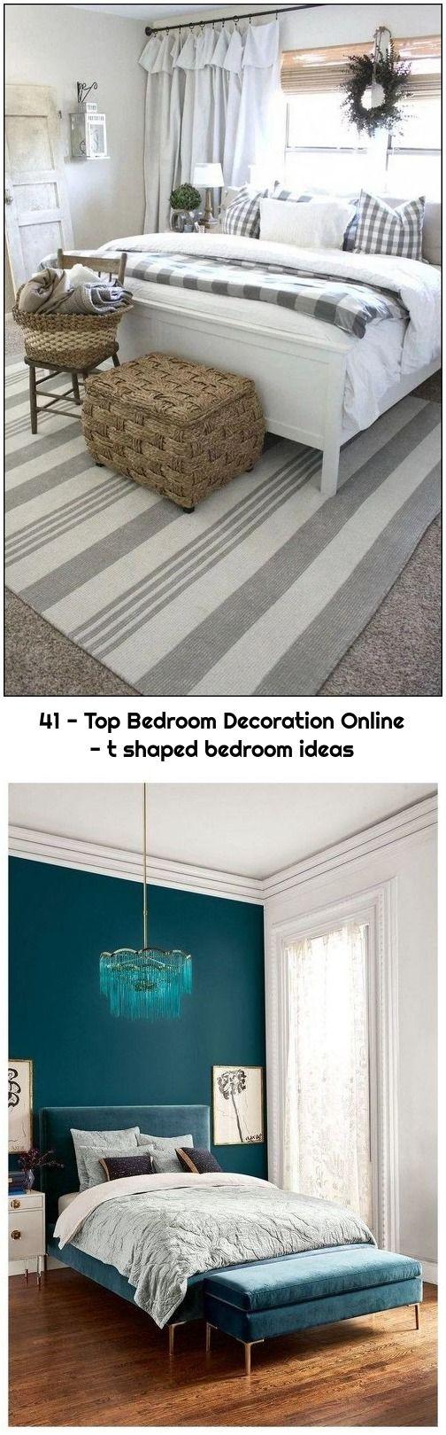 41 Top Bedroom Decoration Online T Shaped Bedroom Ideas Bedroom Decor Grey Bedroom Design Bohemian Bedroom Design