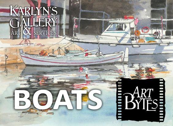 Art Bytes Boats