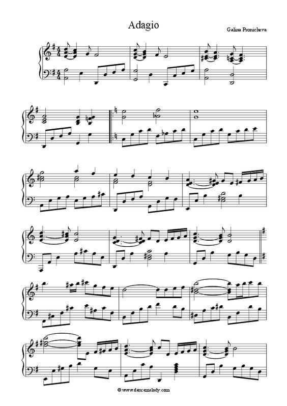 Ballet Class Music Adagio Download Sheet Music Pdf File Ballet Class Music Sheet Music Ballet Music