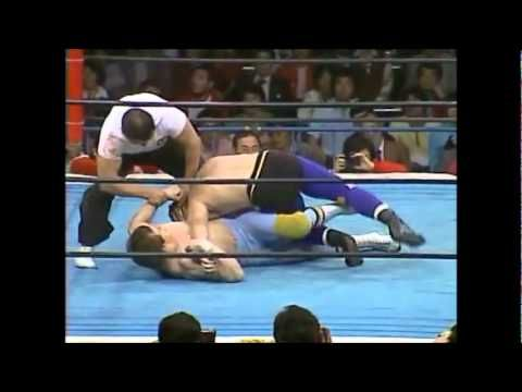 Tiger Mask vs. Dynamite Kid 04.23.81 NJPW: The debut of Tiger Mask, and the first of many amazing encounters between him and the Dynamite Kid.