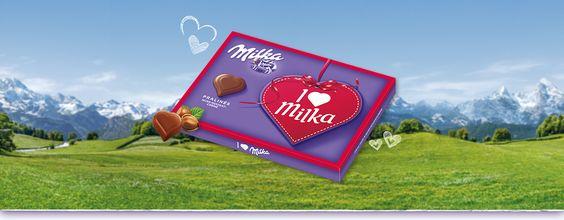 I love Milka Nuss-Nougat 110g