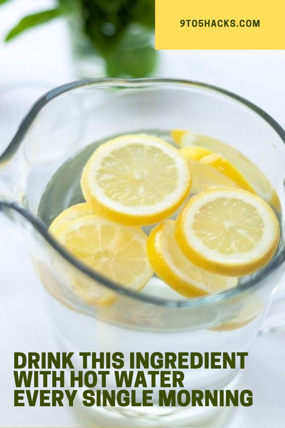 Lemon water benefits 59664