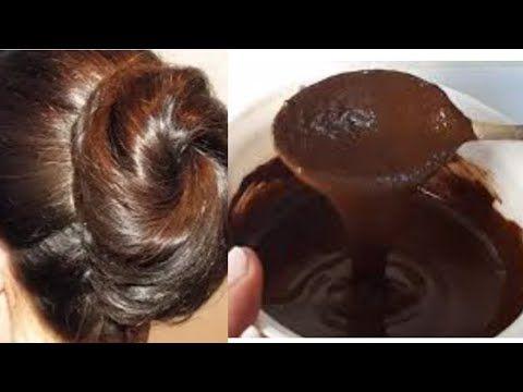 صباغة طبيعية تخفي وتعالج الشعر الابيض والشيب احصلي على لون شعر بني طبيعي في المنزل Youtube In 2020 Hair Beauty Your Hair Beauty