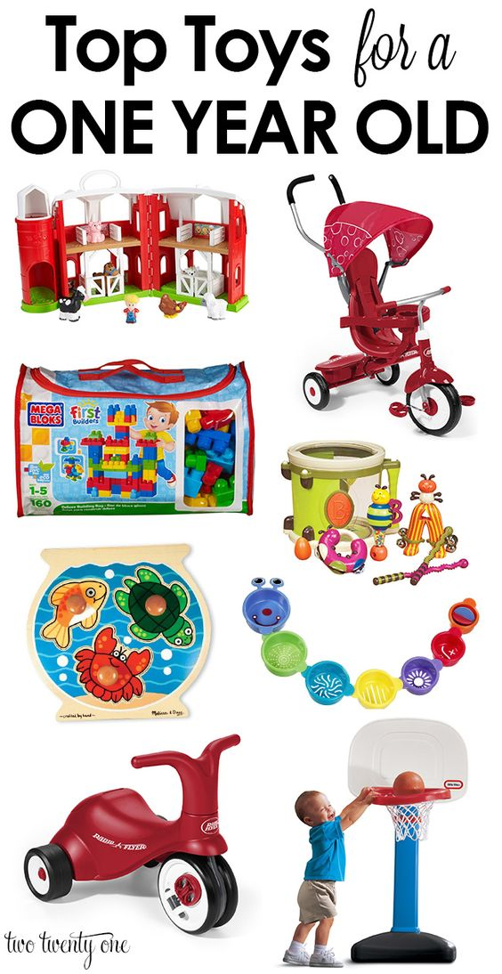 Top Toys For A One Year Old Toys Birthdays And Happy