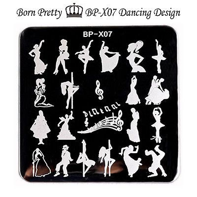 66cm BORN PRETTY Dancing Girl Square Nail Art Stamp Template Image Plate BP-X07 https://t.co/EEMbeexT2v https://t.co/wmOcEnHCy2