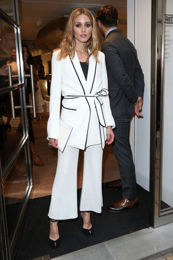 Olivia Palermo's Zara outfit is oh so chic!