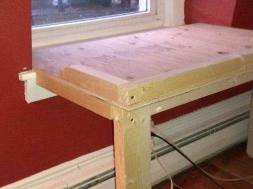Brighten Your Dog S Life With A Homemade Window Seat Arlington