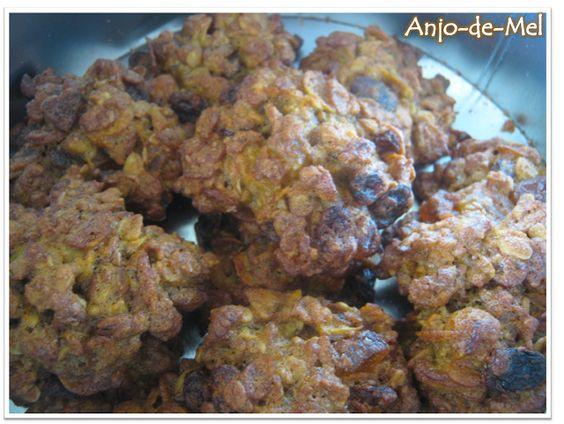 Bruxinha do Lar: Biscoitos de Muesli