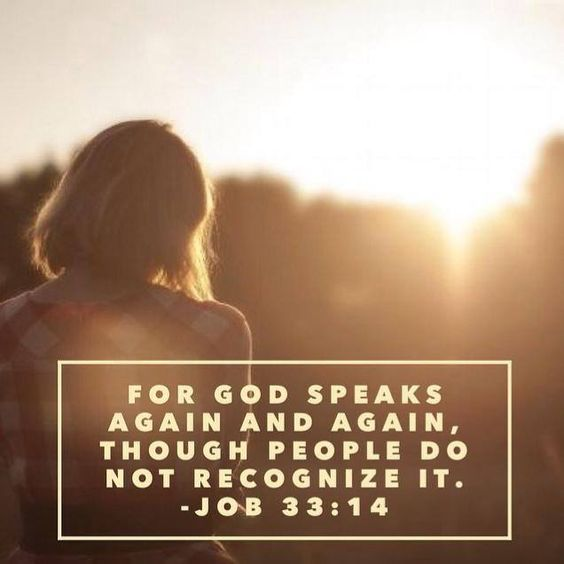 Job 33:14