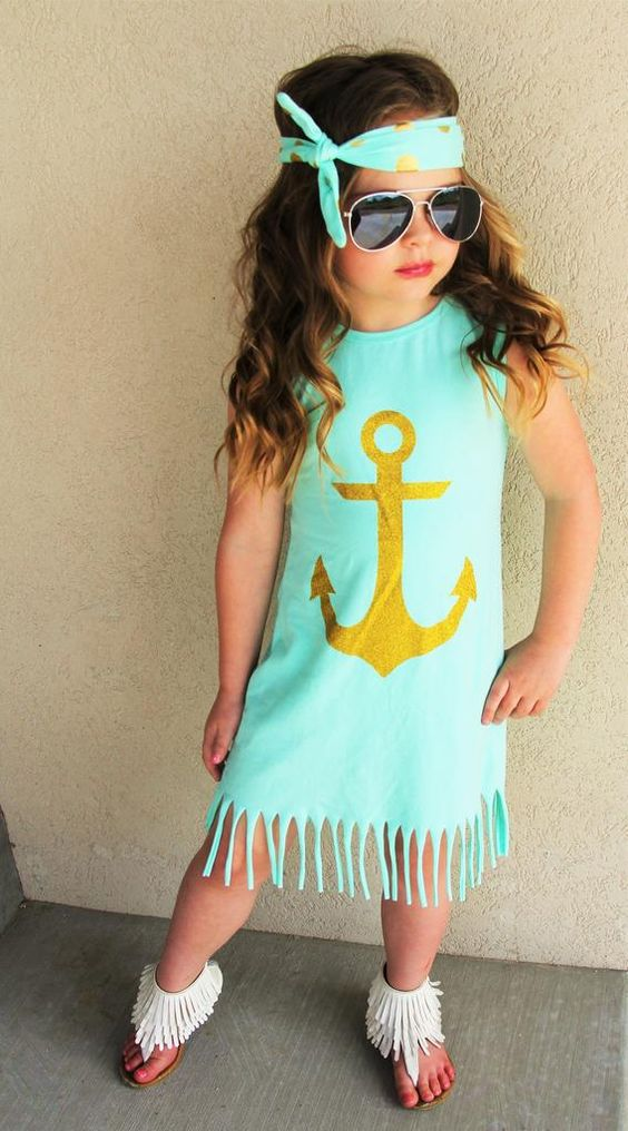 Mint Anchor Fringe Dress #boutique-outfits #dresses #new #perfect-sets #spring-line