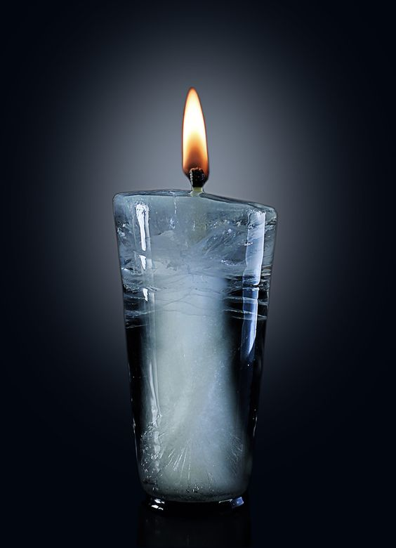 Candle ice by Anton Shepenkov, via 500px
