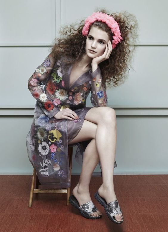 Magdalena Langrova for The Sunday Times Style March 2012 by Katja Mayer